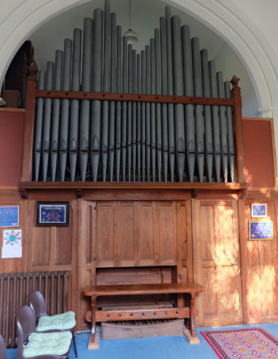 Benhall Church Organ