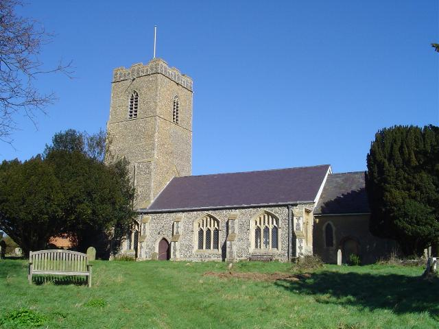 Benefice Holy Communion with Harvest Festival at Great Glemham