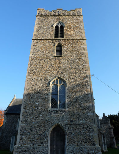 Benhall Church Tower
