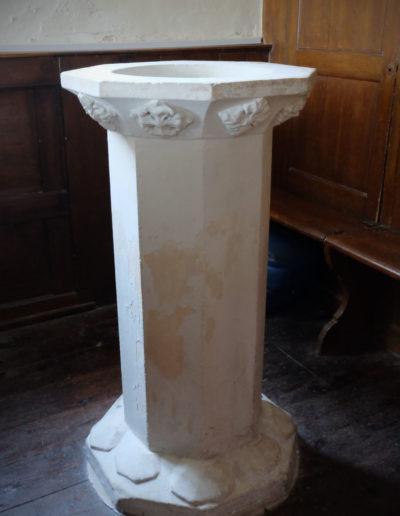Benhall Church Font