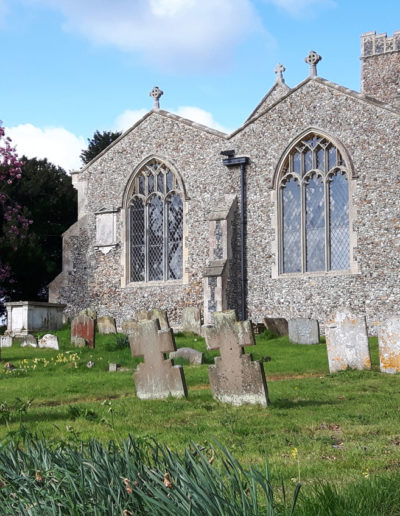 St Mary's Church in Benhall