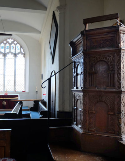 Benhall Church Pulpit